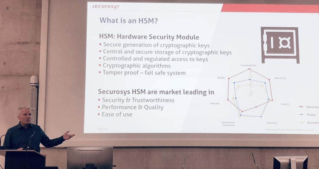 Robert Rogenmoser CEO of Securosys Talks About HSM solution